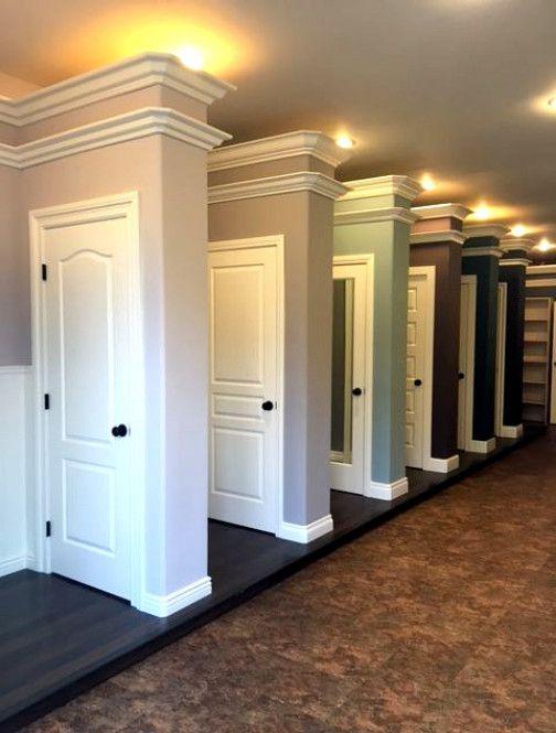 Door and moulding bathroomrenovationideas french doors interior walls luxury design also art of in beadboard wainscoting rh pinterest