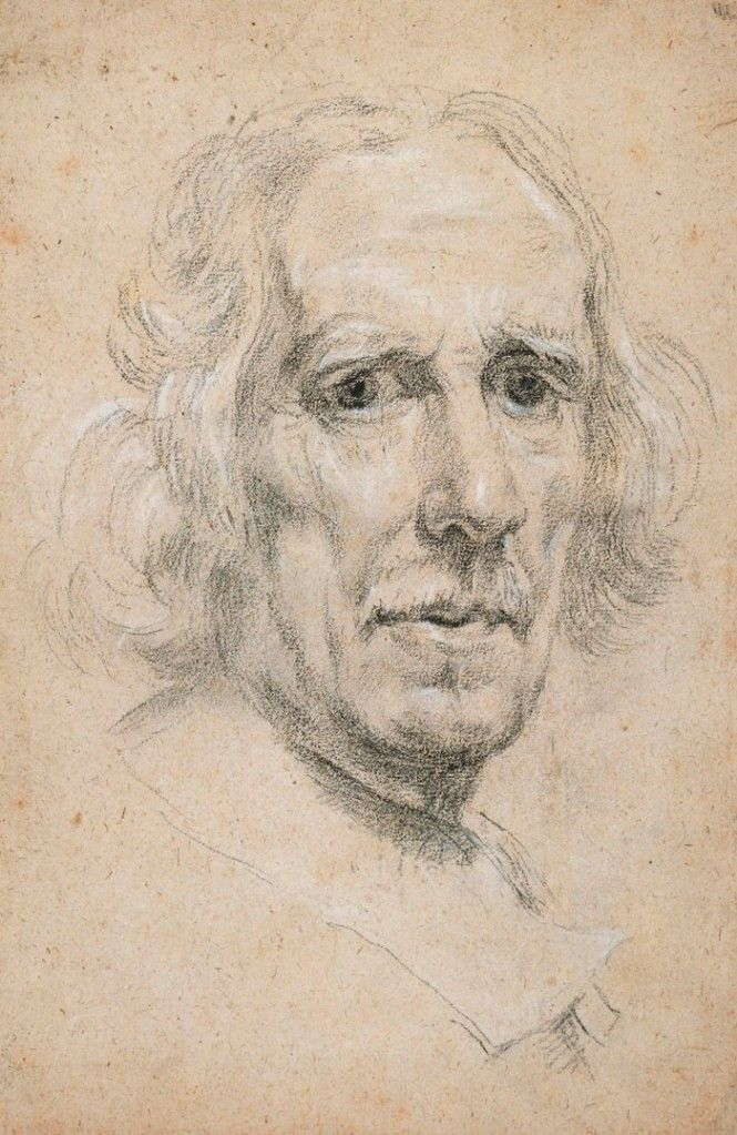 Gian Lorenzo Bernini - Self Portrait, 1665