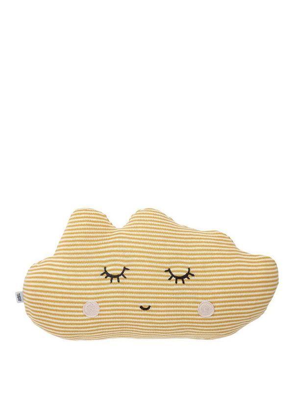 Mamas & Papas Cushion - Yellow Cloud | Cloud and 12 months