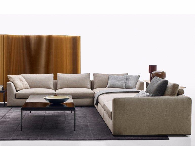 Richard Corner Sofa Richard Collection By B B Italia Design Antonio Citterio Living Room Modern Fabric Sofa Design Living Room Sectional
