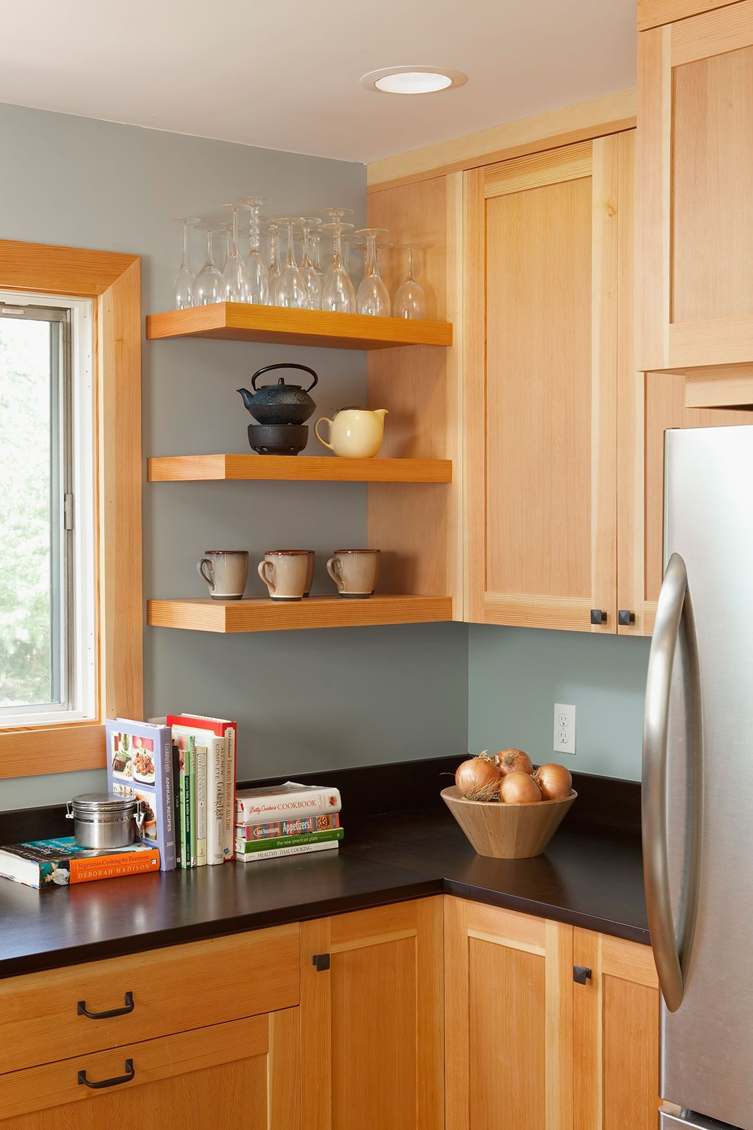 A 1950 S Home With All Original Finishes That Needed Upgrading Special Care Was Paid To Customizing T Kitchen Remodel Small Kitchen Decor Full Kitchen Remodel