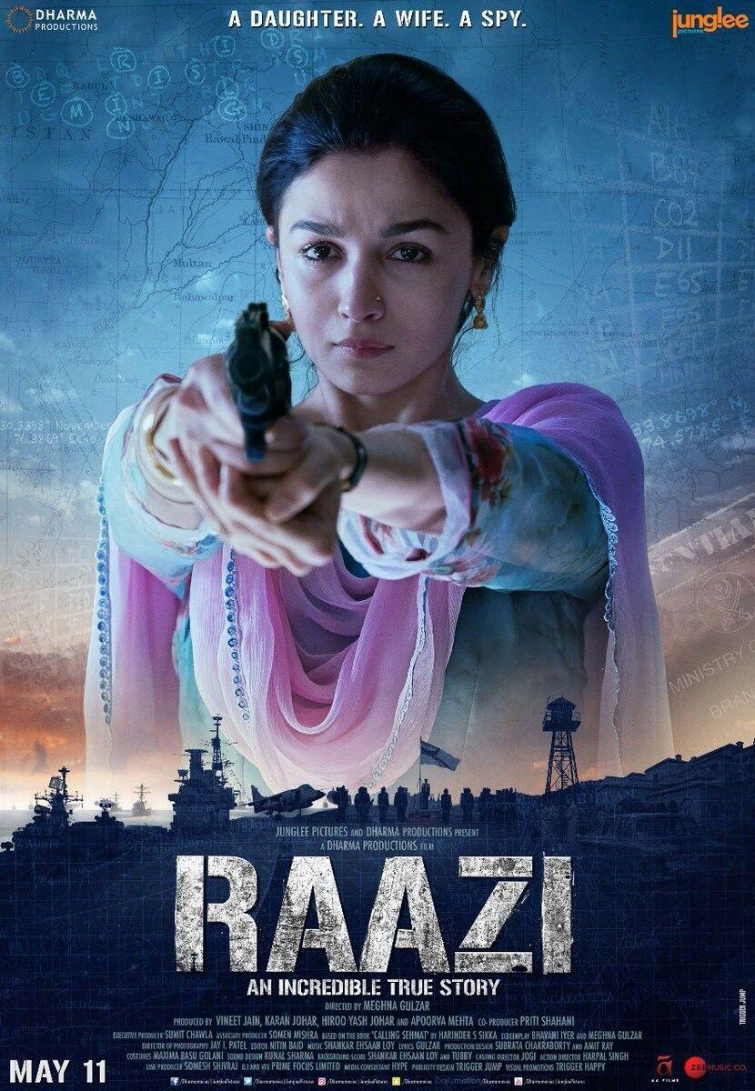 Nonton Film Raazi 2018 Hindi Movie Subtitle Indonesia English
