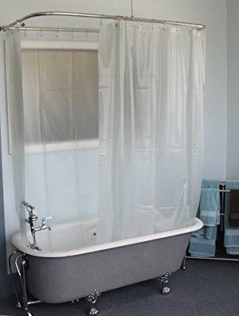 Pin By Jennette On Bathroom Clawfoot Tub Shower Clawfoot Tub