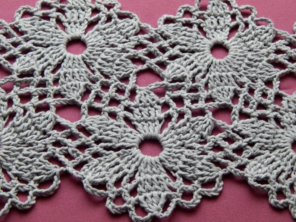 rochet Flower Motif. Crochet Shawl. Tutorial. Part 1 ...