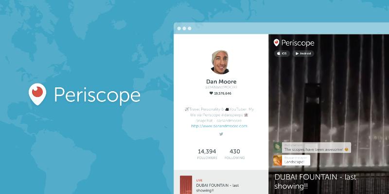 Web Profiles for Periscopers