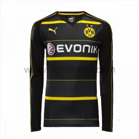 Billige Fotballdrakter BVB Borussia Dortmund 2016 17 Borte