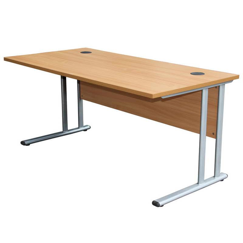 Work Desk Design With Simple Plans One surface could be slanted
