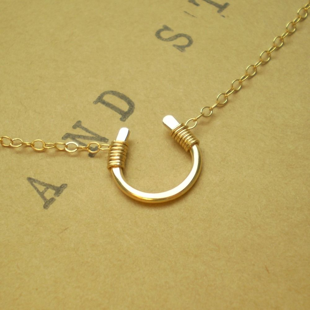 Image of Tiny Luck Necklace