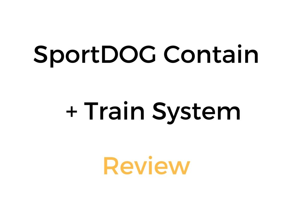 Sportdog Contain Train System Sdf Ct Review In Ground Pet Fence Remote Dog Trainer Train System Pet Fence Invisible Pet Fence