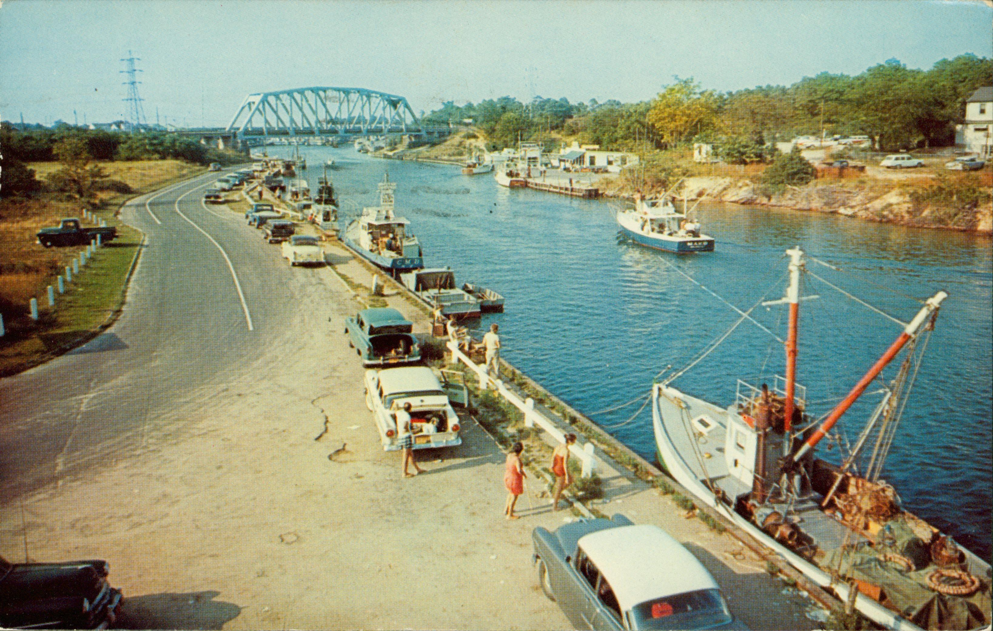 Shinnecock Canal Hampton Bays Ny Postcard Long Island Ny Long Island Sound Hampton Bays