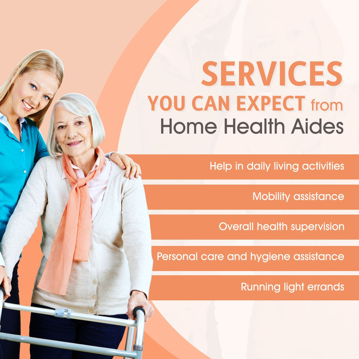 Services You Can Expect from Home Health Aides