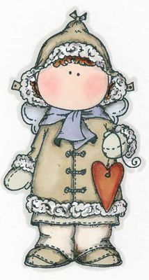 Menininha Segurando um Pequeno Coração