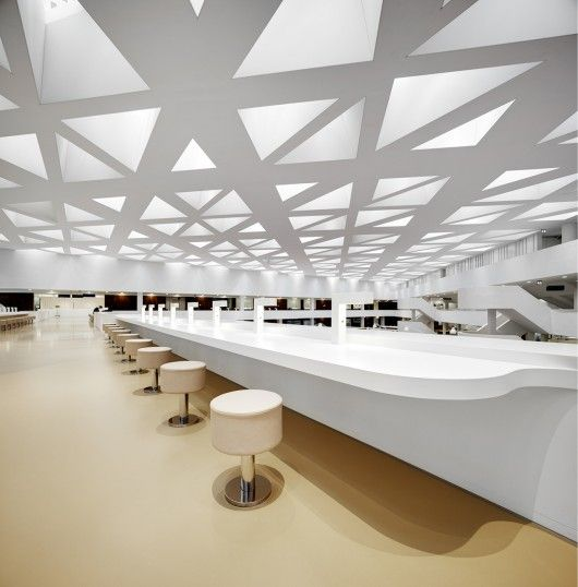Educational Center Erasmus University Medical KAAN Architecten CenterCeiling DesignArchitecture InteriorsContemporary