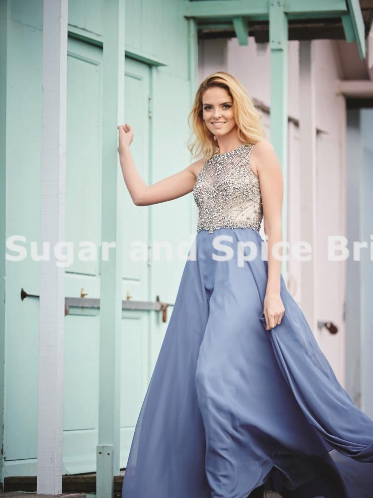 Mckenna in Periwinkle | Prom 2018 | Pinterest | Bridal stores, Prom ...