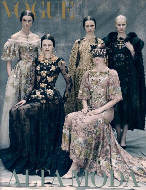 yourgreenlight:   Vogue Italia September 2013