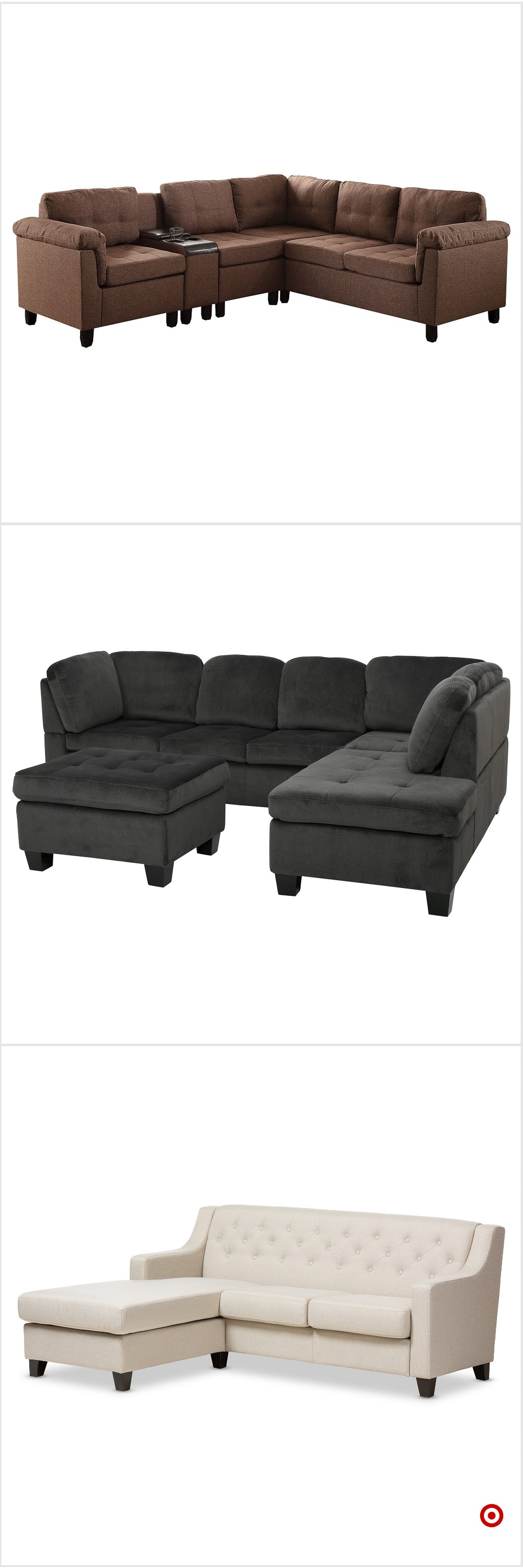 Shop Tar for sectional sofas you will love at great low prices