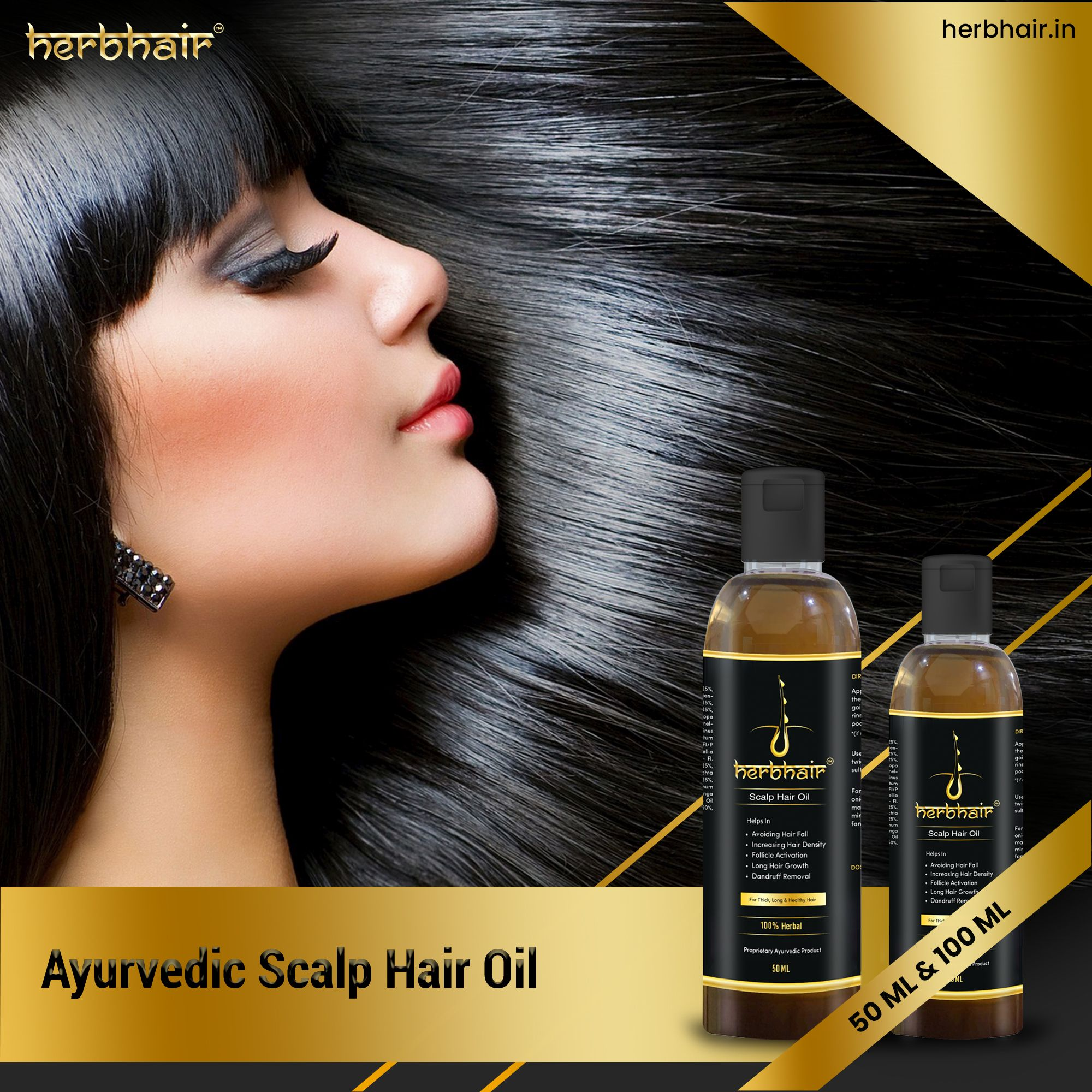 Ayurvedic Scalp Hair Oil Helps Prevent Hair Fall in 2020