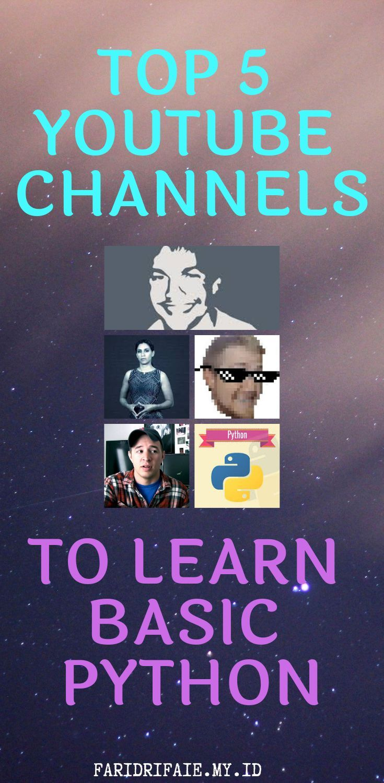 Youtube python tutorial python: programming basics for absolute.