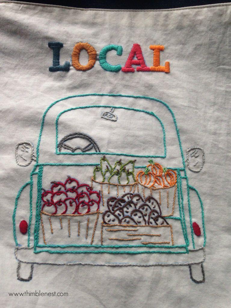 Fresh produce free embroidery patterns cross stitch