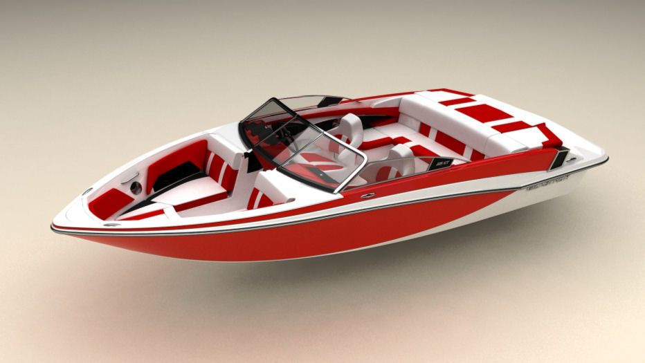 Glastron GTS 225: The swim platform gets an upgrade from the