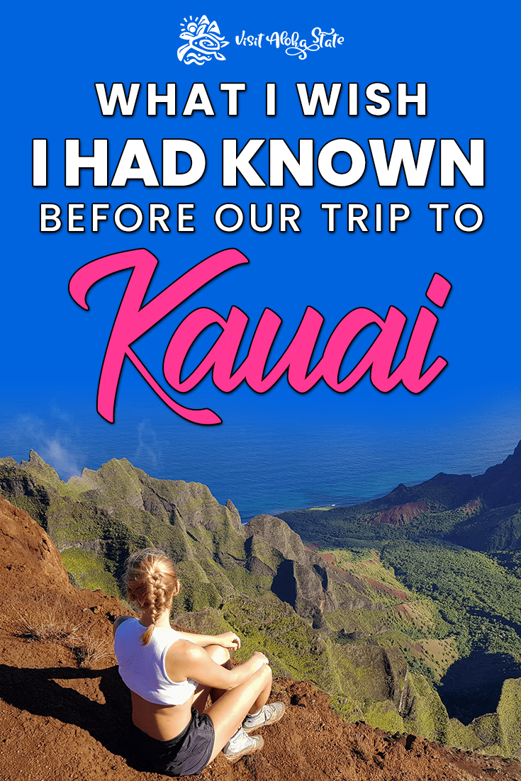 Kauai is the best Hawaiian Island to visit if you love outdoor adventures. Click here to read about the top things to know before visiting Kauai, Hawaii! #TravelGuide #Adventure #TravelTips #Kauai #Hawaii #Travel