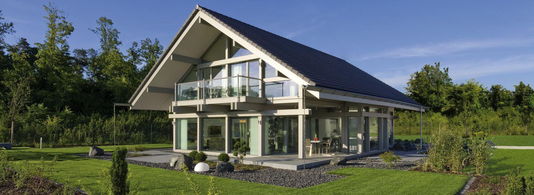 Musterhäuser | Moderne Fachwerkarchitektur | Musterhauszentrum - HUF ...