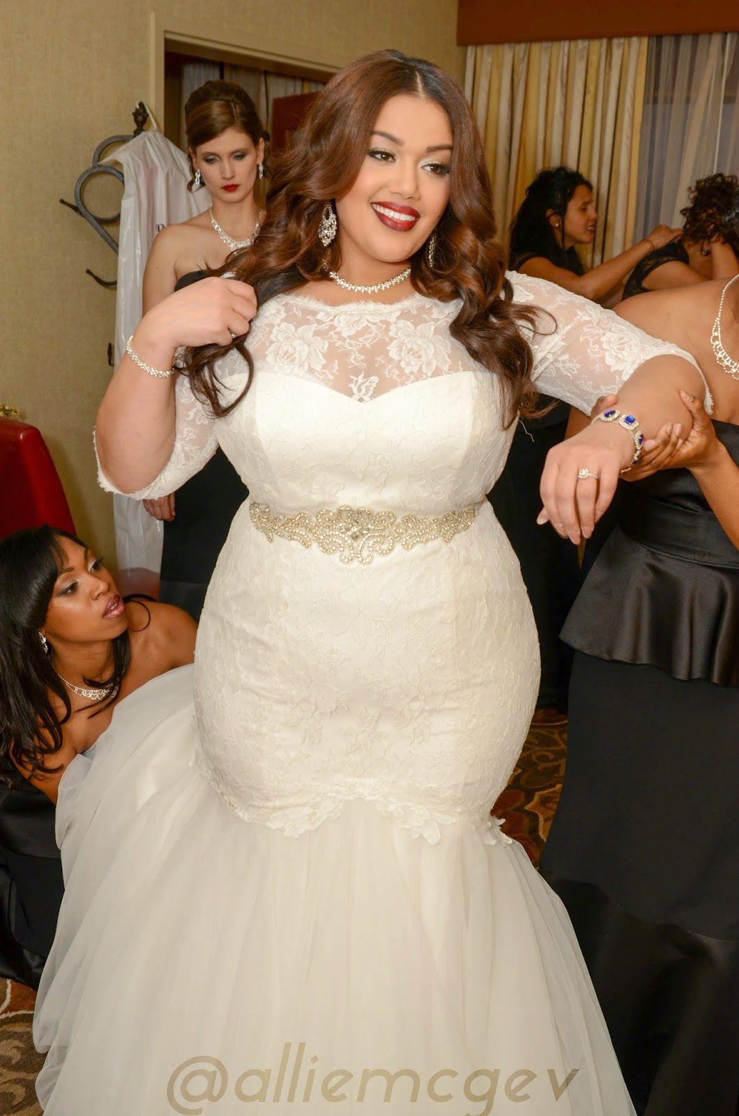 Can pear shape wear mermaid wedding dress