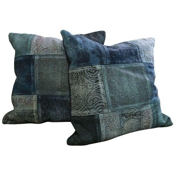 Antique Turkish Kilim Pillows - A Pair (9,145 PHP) ❤ liked on Polyvore featuring home, home decor, throw pillows, pillows, handmade home decor, set of 2 throw pillows and kilim throw pillows