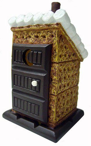 smores ornaments by midwest bride  mores original outhouse