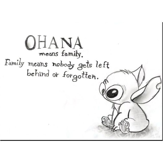 Ohana Means Family   This Quote Would Be Awesome In A Kitchen Or Dining Room
