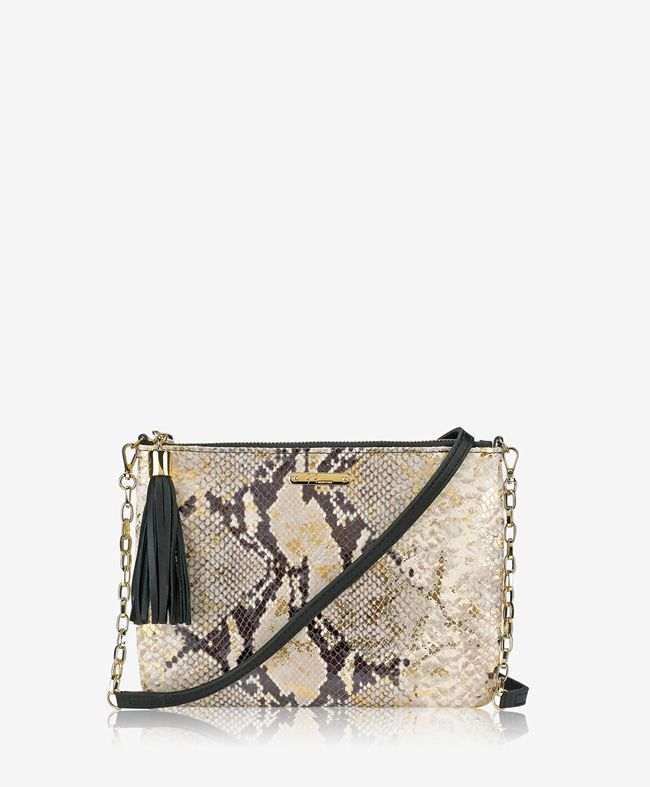 Chelsea Crossbody Gold Wash Embossed Python in 2018   Wish list ... 91d1de3cab9