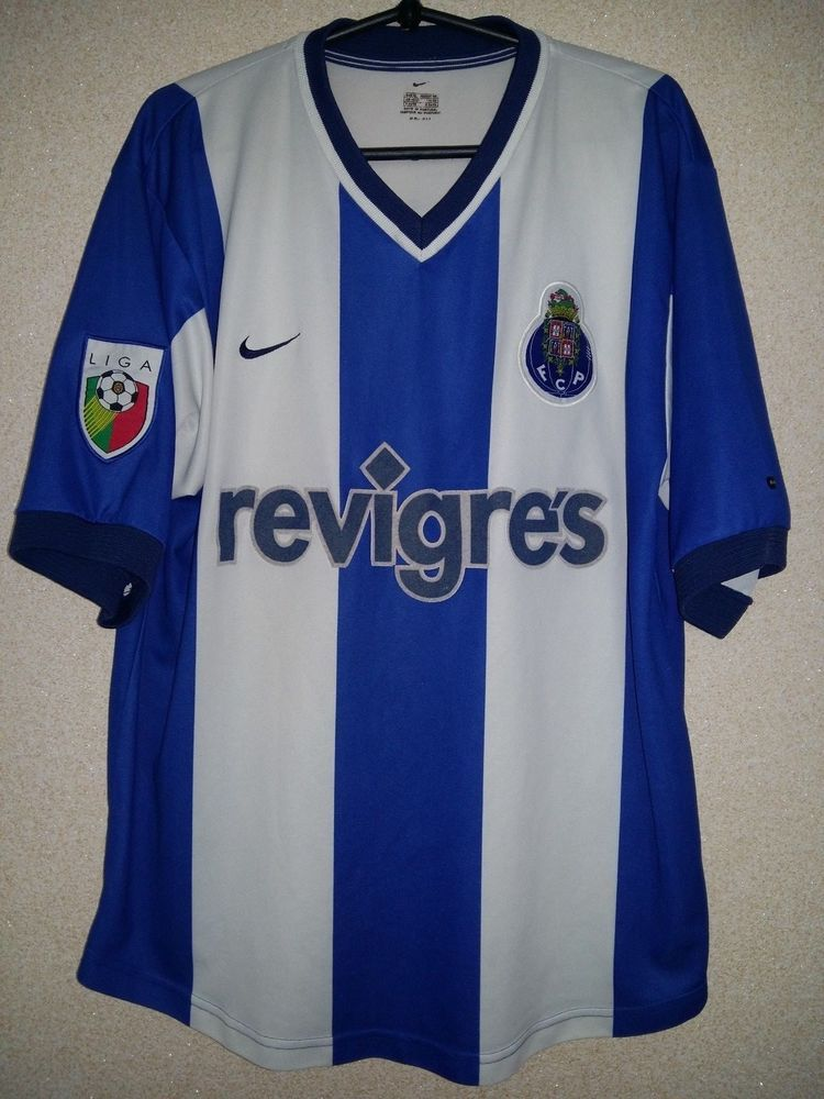 8004bb31b3 FC PORTO PORTUGAL 2000 2001 AWAY FOOTBALL SHIRT JERSEY CAMISETA NIKE (eBay  Link)