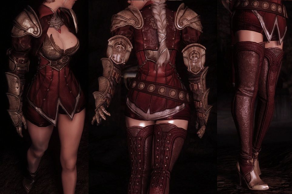 13 Best Eskyrim - Armor and Clothes Mods Datebase images in 2017