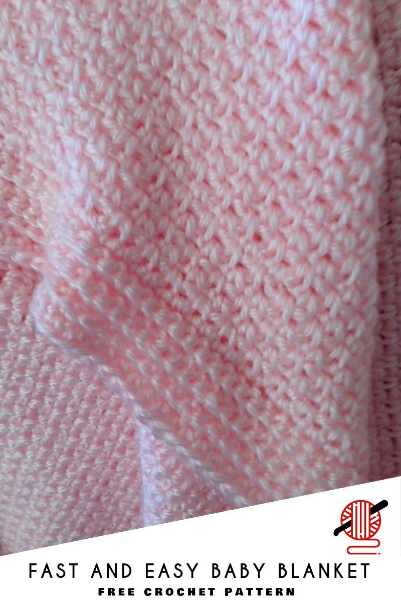 Easy And Beautiful Crochet Blankets Baby Girl Crochet Blanket Crochet Baby Blanket Free Pattern Easy Crochet Baby
