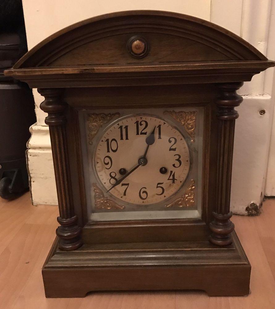 1891 DRGM Deutsches Reichs-Gebrauchsmuster Mantel Clock | Mantel ...