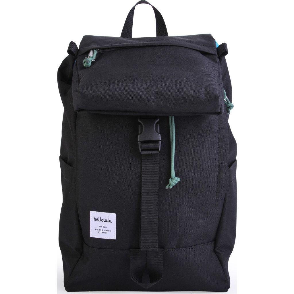 Hellolulu Sutton Drawstring Backpack   Black   Fashion   Pinterest ...