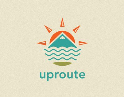 Outdoor and Adventure Logo for Uproute