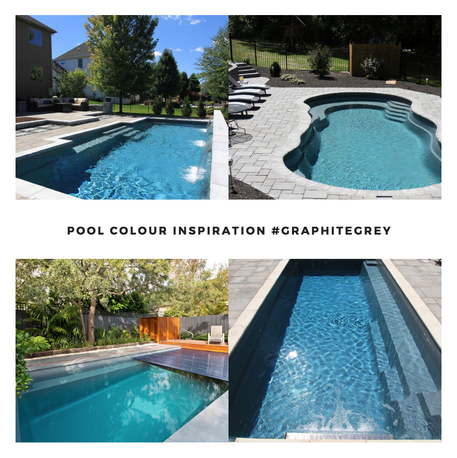 Leisure Pools Smart Colour Range Graphite Grey Colours