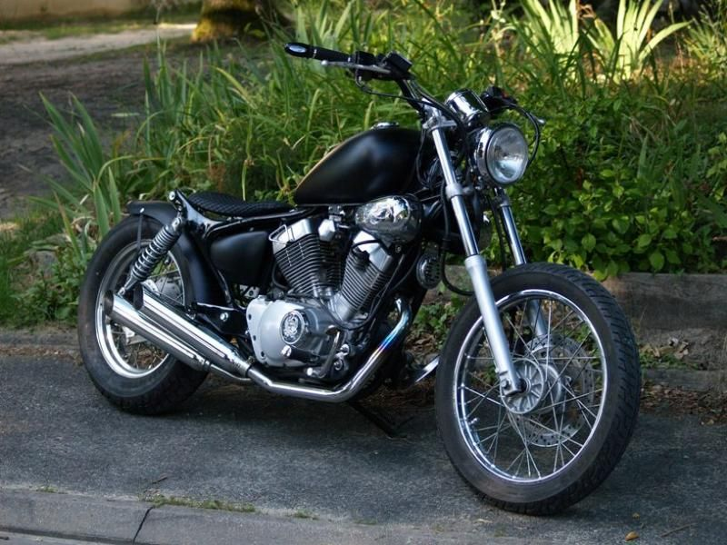 yamaha virago 125 bobber occasion. Black Bedroom Furniture Sets. Home Design Ideas