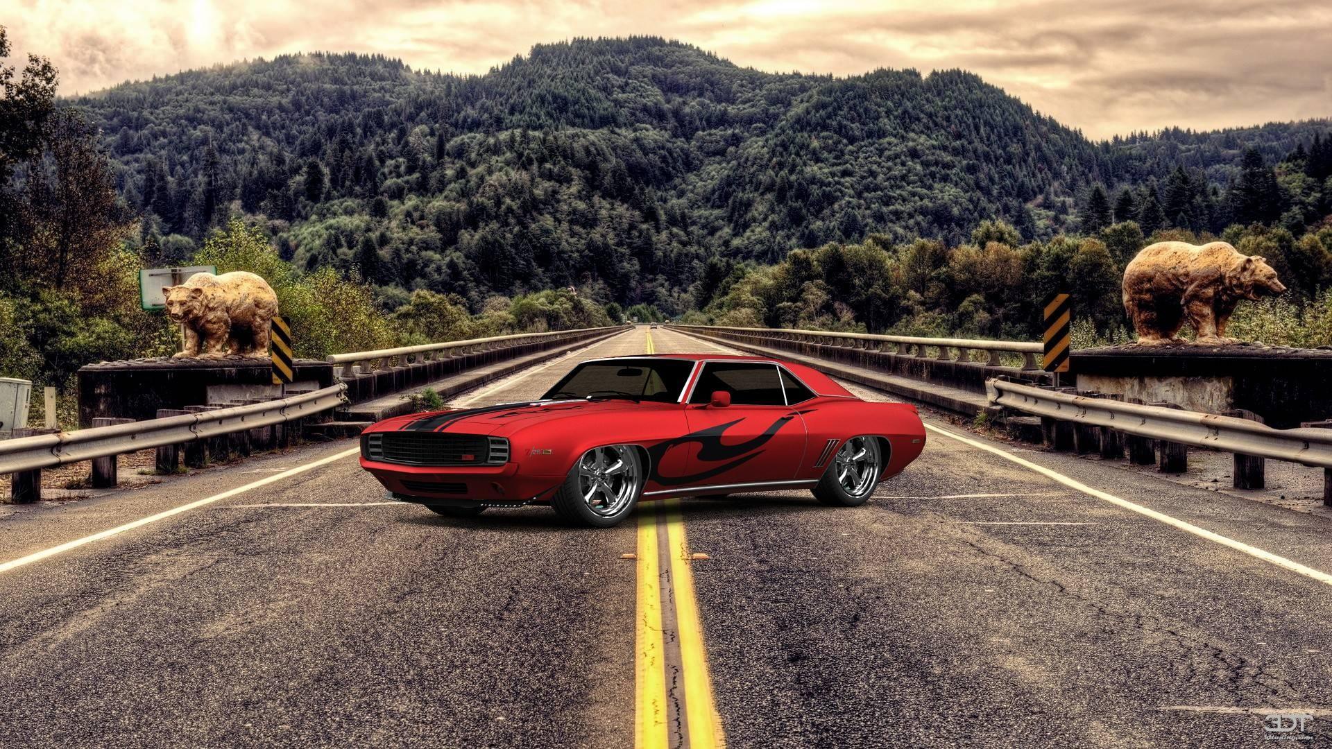 Wie gefällt euch mein Tuning #Chevrolet #CamaroSS 1969 auf 3DTuning #3dtuning #tuning