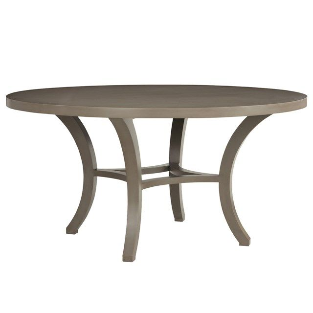 Love this simple, clean-lined look, but very expensive.  Redford House Carter Round Dining Table