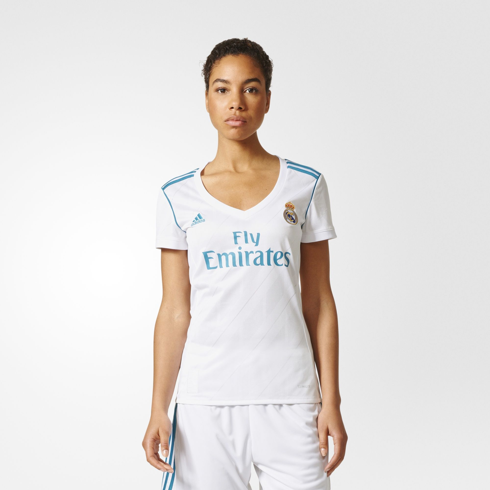 adidas - Jersey Real Madrid Local Mujer Réplica 2017 2018  d640a611bfcc1
