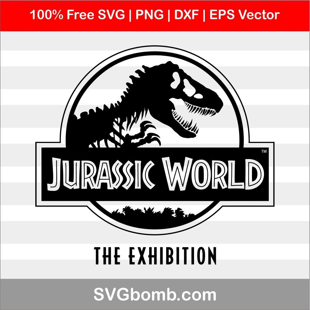 Jurassic World Logo SVG Image Vector Cricut