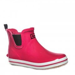 Ankle Height Women S Rain Boot With A Flat Sole Sharonlo
