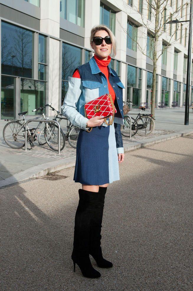 Streetstyle von der Londoner Fashion Week