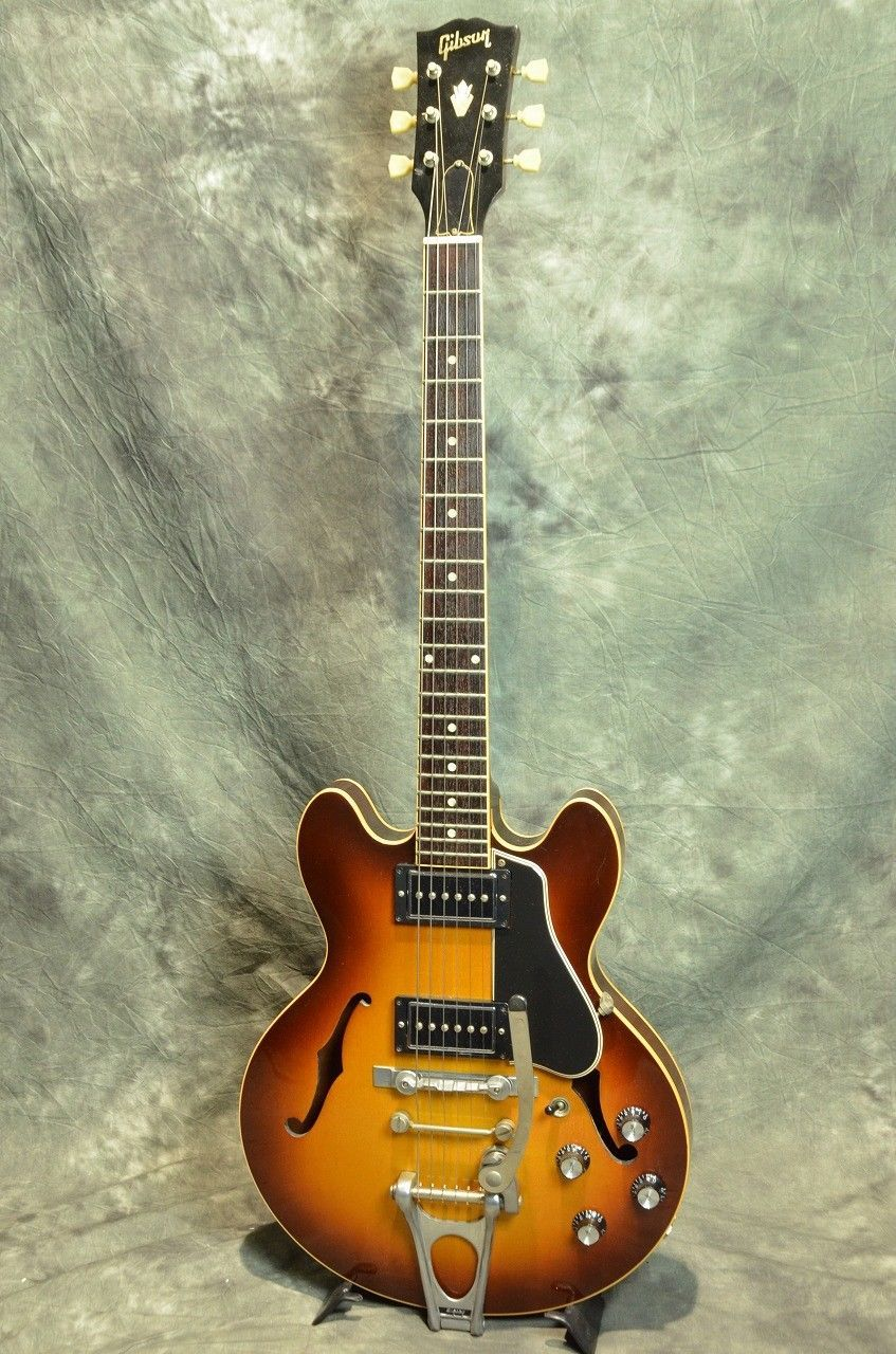 Gibson Custom Shop Cs 336 W Bigsby Vintage Sunburst Semi Acoustic Guitar 711106902210 Ebay Semi Acoustic Guitar Gibson Custom Shop Electric Guitar For Sale