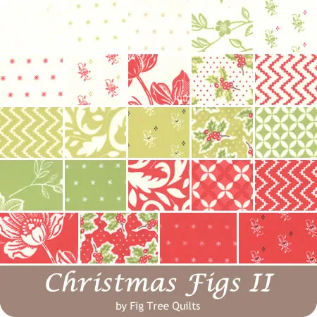 Christmas Fabric For 2020 Christmas Figs II by Fig Tree Quilts for Moda Fabrics   May 2020