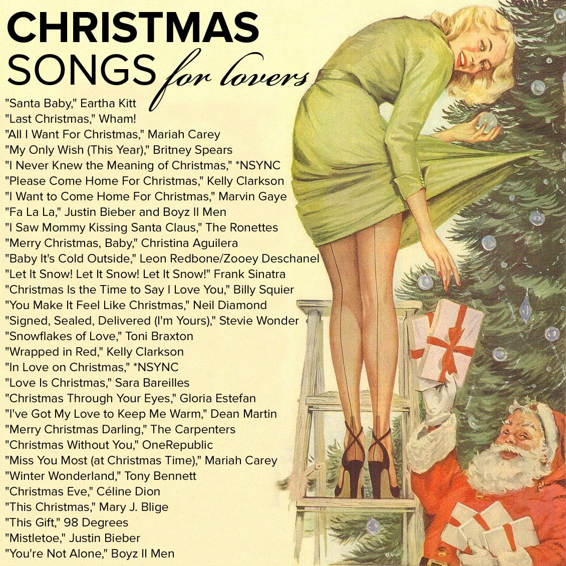 Listen to the Ultimate Romantic Christmas Playlist