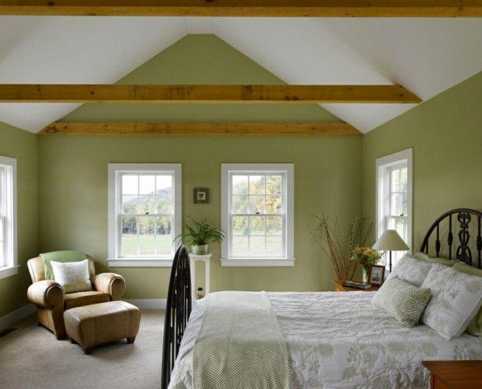 Schlafzimmer Landhausstil \u2013 55 Beispiele für gemütliches