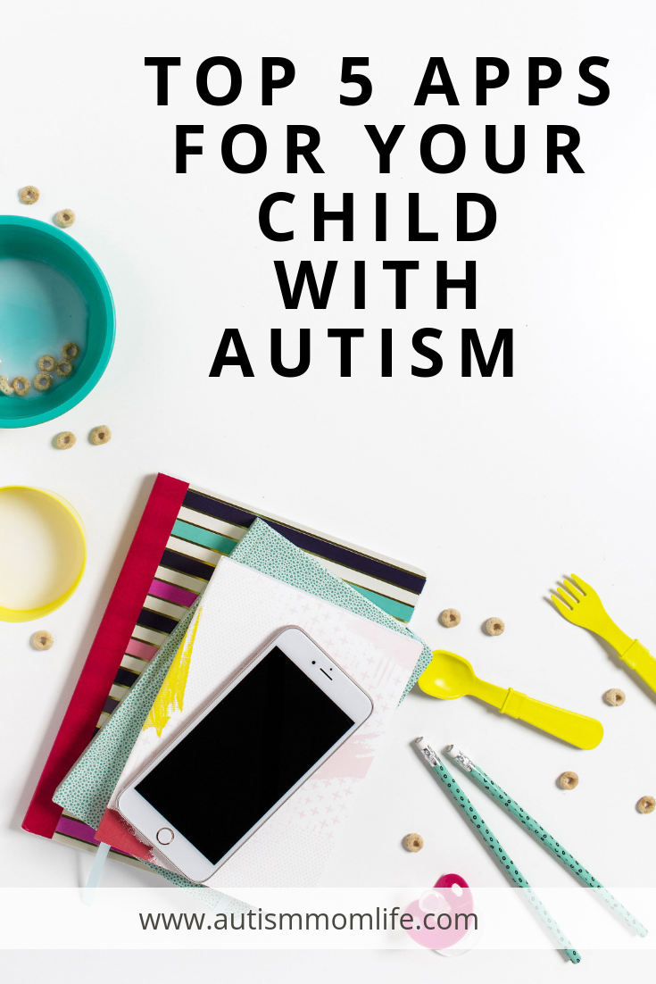 Top 5 Apps for Your Child with Autism #anxietyhustle Top 5 Apps for Your Child with Autism | Autism Mom Life | You'll find a list of apps to explore  just in time for summer, where emotions may range from relief of not having to deal with the morning school hustle to anxiety and stress of having all the kids home for the next three months. Here are the top 5 Apps for your child with Autism, just in time for summer! #specialneedsparenting #summer #autismresources #anxietyhustle Top 5 Apps for Y #anxietyhustle
